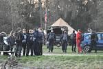 Noční pochod po stopách výsadku partyzánů z výsadku CHALK přilákal policisty, vojáky, hasiče a další účastníky z celé České republiky.