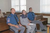 Filip Bejšovec před soudem v Příbrami