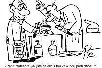 Nová várka kresleného humoru Jiřího Cinkeise a Pepy Pšeničky.