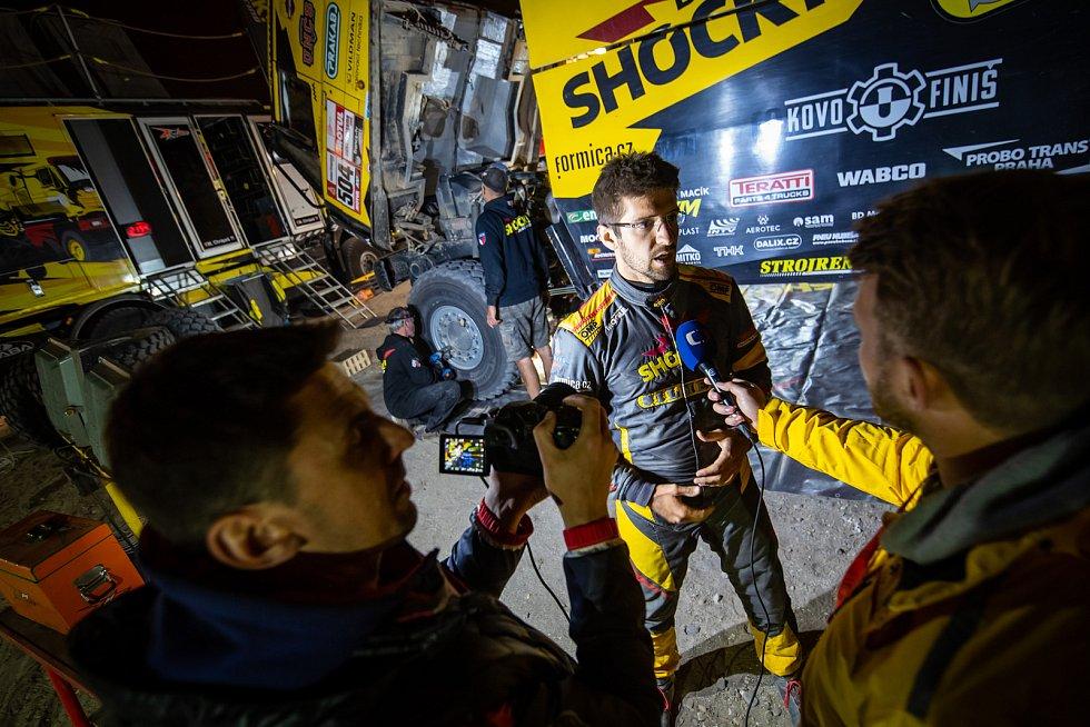 Martin Macík a Jan Brabec během 41. ročníku Rally Dakar 2019.