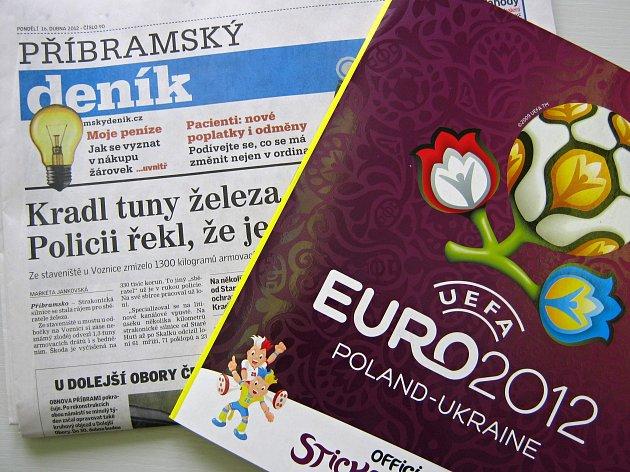 Album Euro 2012 ve vašem Deníku.