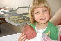 Karolínka Koukolová se mamince Janě a tatínkovi Karlovi z Lázu narodila v pondělí 6. května, vážila 2,51 kg a měřila 49 cm. Velkou radost ze sestřičky má skoro čtyřletá Barunka.