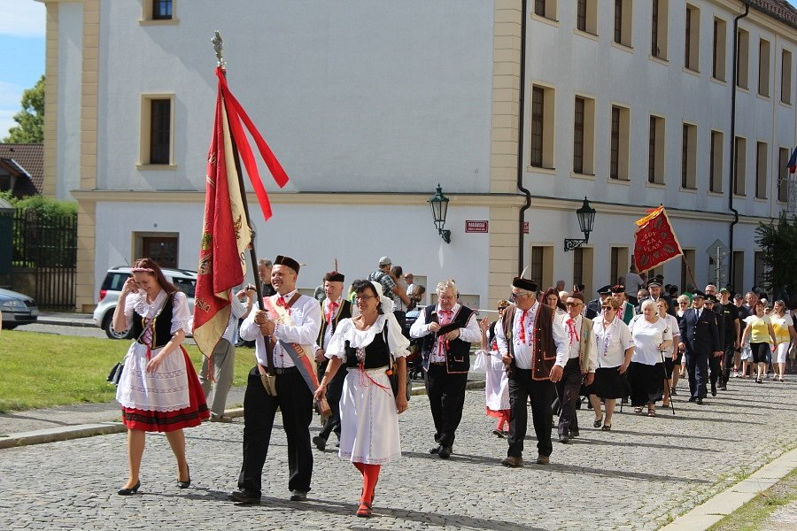 Letošní Prokopská pouť na Březových Horách byla proti předchozím ročníkům kvůli koronaviru komornější.