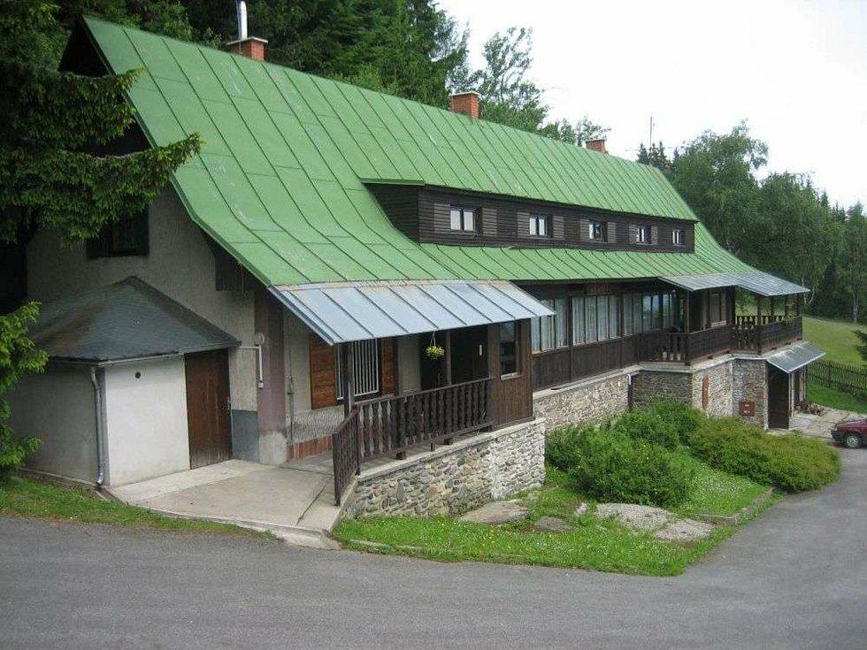 Rekreační chata Granit města Příbram na šumavském Zadově.