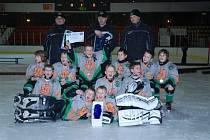 Turnaj O hornický kahan v minihokeji, který se 7. a 8. března konal na ZS Příbram.