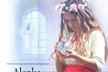 Otakáro Maria Schmidt a Jana Kristina Studničková představí v příbramském kině poetický film pro celou rodinu Alenka v zemi zázraků, natočený podle stejnojmenné knihy autorky Jany K. Studničkové.