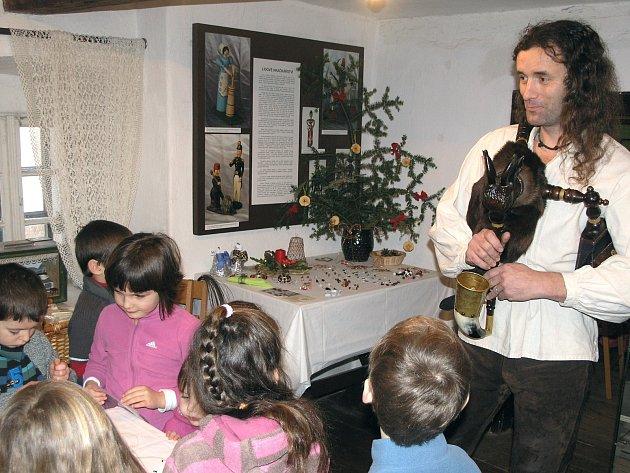 Havířské Vánoce před sto lety budou kvidění vhornickém domku na Březových Horách.