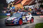 Vystoupil předčasně. Jan Černý svůj vůz do cíle letošní Barum Rally nedovezl, protože musel odstoupit pro technické problémy.