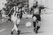 Jak velký Karel rozesmutnil Příbram. V sezoně 1994/1995 se Portal Příbram probil až do semifinále poháru. V něm vypadl s po prohře 0:3 s Viktorií Žižkov, když dva góly vstřelil už tehdy zářící Karel Poborský. Třetí přidal ex-příbramský Miroslav Kordule.