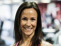 Šestinásobná mistryně světa ve fitness step aerobiku Lucie Chlebnová, která v současnosti působí jako trenérka v příbramském Oxygenu.