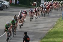 1. etapa závodu Lidice 2008 v ulicích Příbrami.