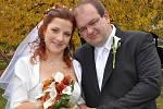 V Milíně si v sobotu 16. října řekli své ano Petra Vítková a Karel Němec. Svatební obřad se konal ve 13 hodin.