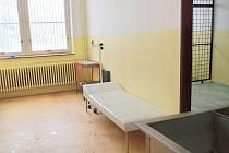 Záchytná stanice ve zdabořském areálu příbramské nemocnice.