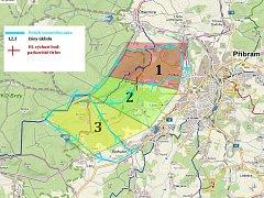 Lokality, které se budou uklízet.