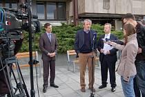 Ministři v Příbrami na jednání o Brdech.