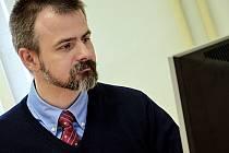 Dětský psychiatr Michal Goetz.