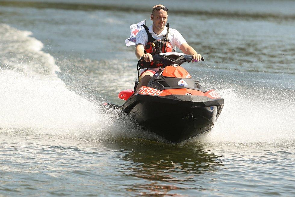 Sezónní záchranáři budou na Slapech a Orlíku opět zajišťovat bezpečí rekreantů (ilustrační foto).
