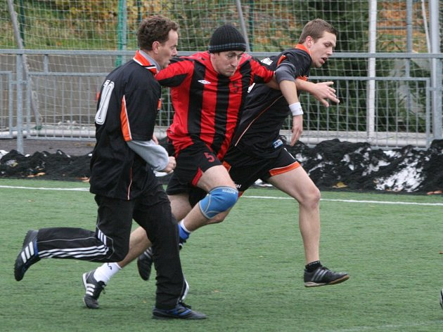 Malý fotbal, 4. liga: Airborne-ZZN B - Kotláři.