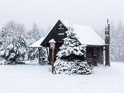 Zimní čas sebou přinesl sníh pro Brdy - neděle 28. října 2018 dopoledne.