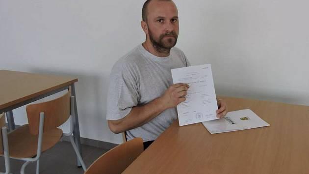 Jeden z příbramských vězňů se rozhodl změnit svůj osud