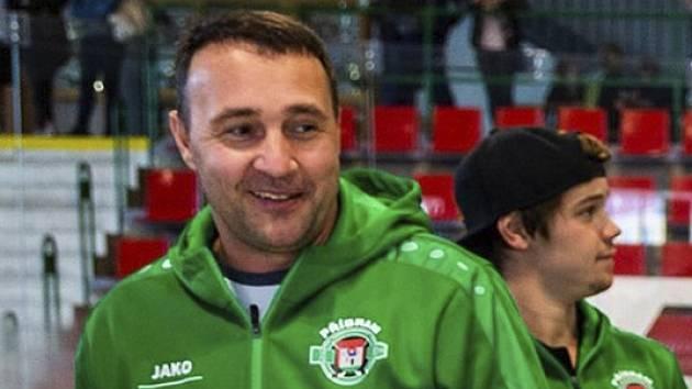 Generální manažer HC Příbram Miroslav Bláha.
