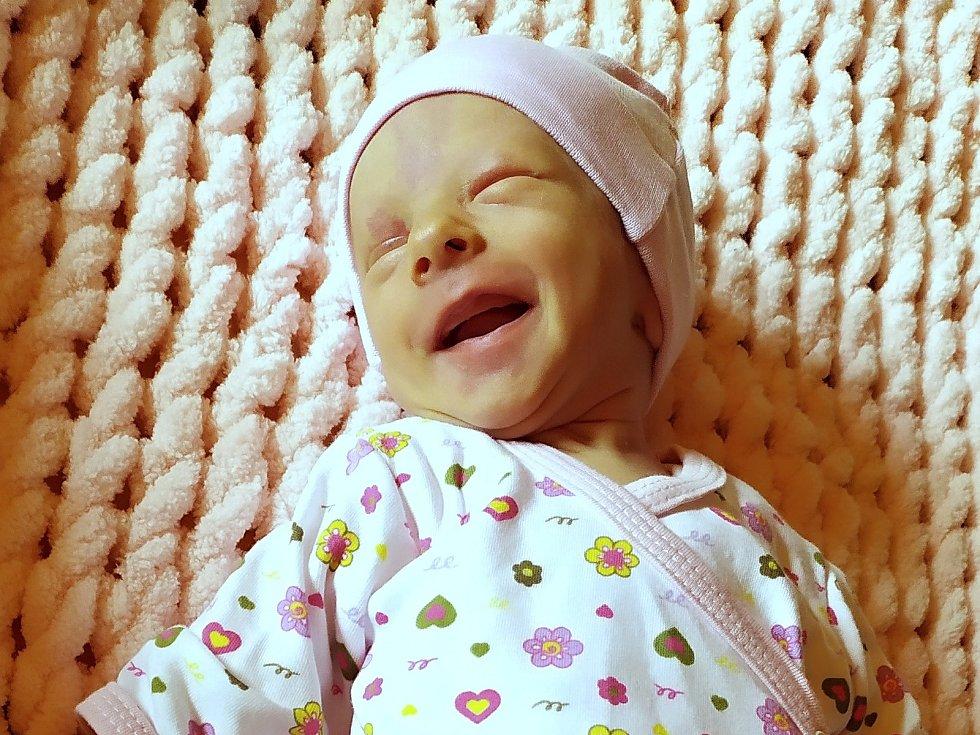 Ellen Slancová, Dobříš. Narodila se 23. dubna 2020 v Příbrami. Vážila 2,19 kg a měřila 46 cm. Rodiče jsou Andrea a Ronald.