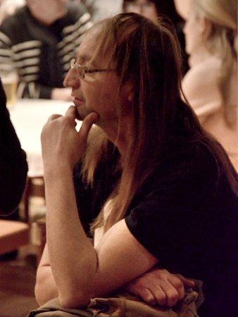 Na prvním Klubovém večeru vBřeznici se posluchačům představil muzikant a básník Oldřich Janota.
