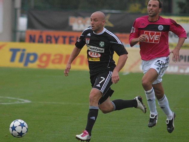 Gambrinus liga: Příbram - Č. Budějovice (2:0). Lukáš Pleško vstřelil první gól zápasu.