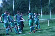Fotbalisté Podlesí zvládli příbramské derby a zvítězili 2:0 nad Spartakem.