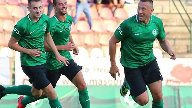 Miroslav Slepička zaznamenal za B tým první gól po zranění.