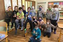 Z oslavy Mezinárodního dne dětí v Základní škole Sedlec-Prčice. Každá třída to pojala jinak.