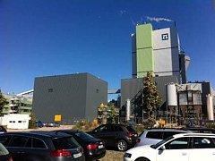 STENDAL - pohled na elektrárnu.