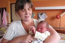 V sobotu 23. července přivítala maminka Monika ze Stěžova na světě dcerku Terezu Nekolnou, která po příchodu na svět vážila 3,52 kg a měřila 50 cm.