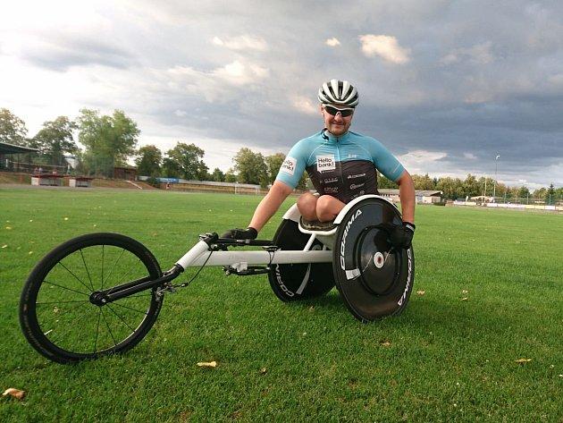 Paratriatlonistu Jana Tománka čeká vrchol sezony. Mistrovství světa, kde bude obhajovat loňský titul.