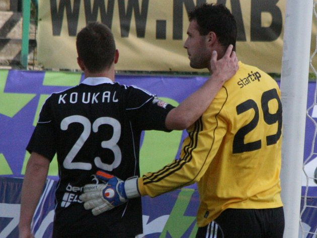 Gambrinus liga: Příbram - Č. Budějovice.