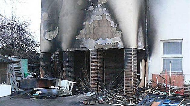 Požár objektu firmy Dokas Dobříš