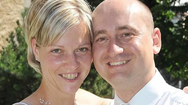 """V pátek 17. července si řekli své """"ano"""" v Příbrami v Zámečku Kamil Sirůček a Jana Holáková. Svatbu měli novomanželé Sirůčkovi v 10.30 hodin."""