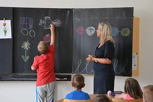 Přípravná třída na Základní škole Bratří Čapků v Příbrami.