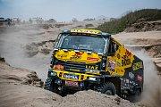 Závodníci Big Shock Racing týmu Martin Macík a Jan Brabec mají za sebou zatím nejnáročnější etapu 41. ročníku Rally Dakar.