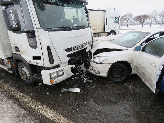 Nehoda u Rožmitálu.