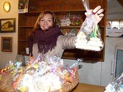 Martinský jarmark má ve Váchově špejcharu tradici a láká každý rok víc a víc prodejců i návštěvníků.
