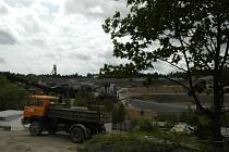 Areál firmy Ecoinvest nedaleko Příbrami
