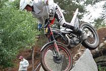 Mistrovství republiky v trialu v Ouběnicích.