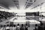 Příbramský krytý bazén pochází ze 70. let 20. století.