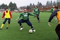 Zimní fotbalová příprava: Podlesí - Trh. Dušníky (4:0).