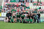 Odveta baráže o účast v první lize: 1. FK Příbram - Zbrojovka Brno 0:0.