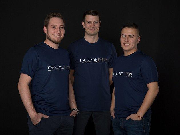 Projektový manažer voblasti IT a marketingu Martin Tran (vpravo).