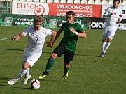 Utkání třetího kola MOL Cupu 1. FK Příbram - Vlašim 4:1 (3:0).