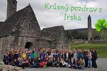 Příbramští školáci se vydali na poznávací zájezd do Irska