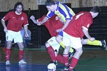 Divize futsalu: FC 83 Příbram - FC Brandýsek (11:5).